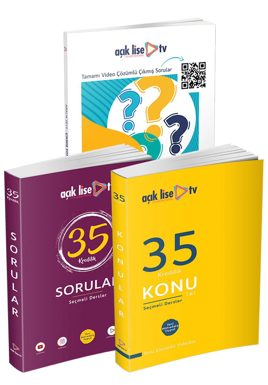 35 Kredilik Kitaplar - Seçmeli Dersler